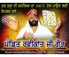Vedic Astrology Specialist Acharaya Ravikant Ji Gaur 9501244448